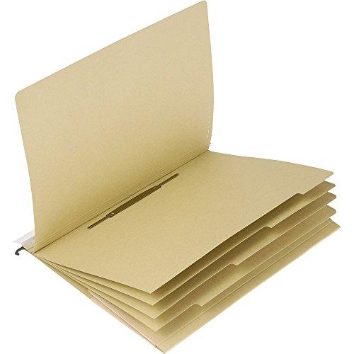 ELBA Mehrfach-Hängehefter vertic Ultimate aus Recycling-Karton, braun, 25er Pack