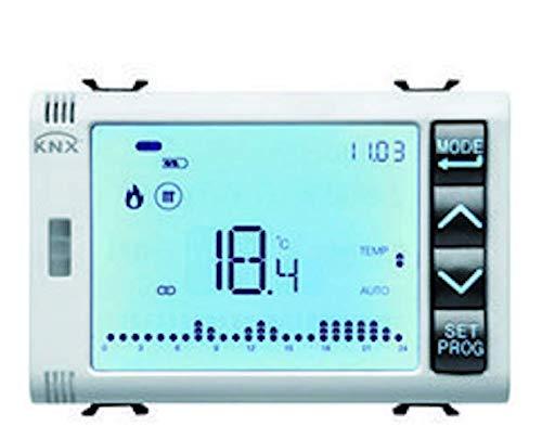 CHORUS - thermostaat temperatuur + luchtvochtigheid knx inbouwlamp wit