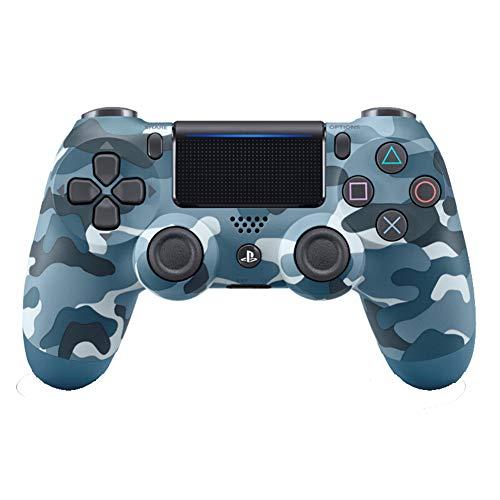 SDSAD Mando inalámbrico para Playstation 4, camuflaje azul
