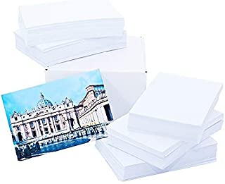 Matte Photo Paper 220gsm, Double Sided 4'x6' (500 Sheets) White