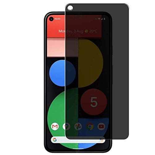 Vaxson Anti Spy Screen Protector Compatible with Google Pixel 5, Screen Protector Privacy Protect [Not Tempered Glass]