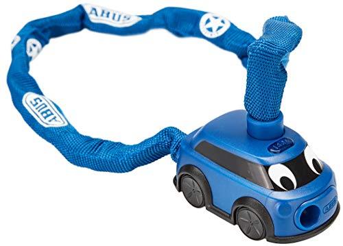 ABUS Kettenschloss 1510/60 Security Department – Fahrradschloss für Kinder – 60 cm – 78098 – Blau