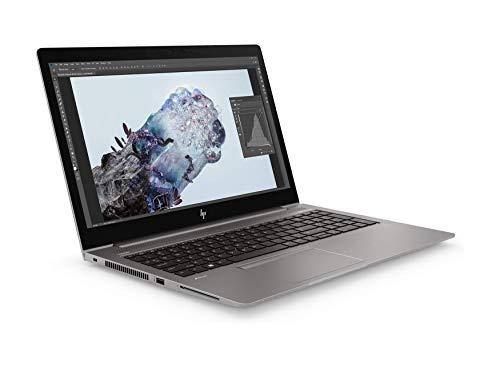 HP ZBook 15u G6 15.6' FHD Mobile Workstation i7 8565U & AMD Radeon Pro WX 3200 4GB, 32GB DDR4,1TB NVMe SSD, Wireless 11ac & BT5.0 Win 10 Pro – UK Keyboard Layout - Non HP Plain Boxed (Renewed)