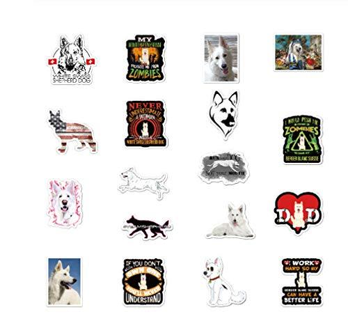 votgl 50 stuks Duitse herderhond sticker voor scrapbooking laptop gitaar skateboard koffer sticker dier puppy sticker 2020