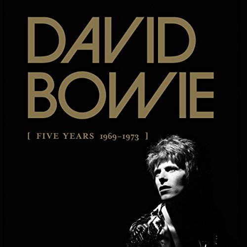 Coffret DAVID BOWIE Five Years 1969 - 1973 (Coffret 12 CD)