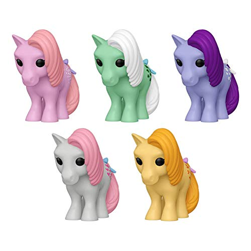 Funko Pop! Retro Toys My Little Pony Set of 5: Cotton Candy, Minty, Blossom, Snuzzle and Butterscotch