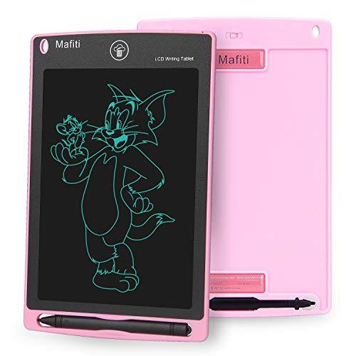 Mafiti 8,5 Pulgadas Tableta Gráfica, Tablets de Escritura LCD, Portátil Tableta de Dibujo Adecuada para el hogar, Escuela, Oficina (Rosa)