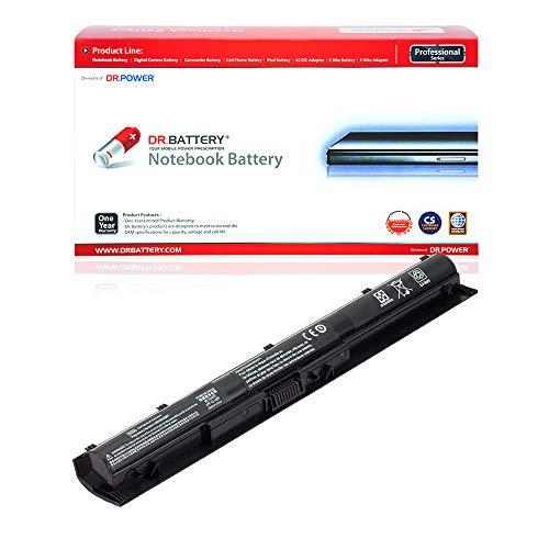 DR. BATTERY Laptop Battery Compatible with HP KI04 Battery 800049-001 Battery Pavilion 14 15 17 Battery TPN-Q160 TPN-Q158 TPN-Q161 TPN-Q162 HSTNN-LB6R HSTNN-DB6T 800010-421 [14.8V/2200mAh/32Wh]