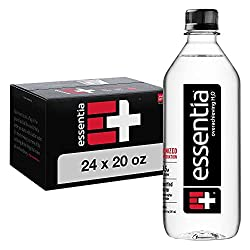 professional Essentia Water; 20 oz Bottle; Building 24; Bottled Ionized Alkaline Water. Fill with electrolyte …