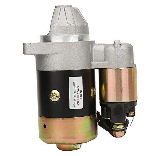HLONGG Motor Mit Geringem Stromverbrauch 800W Elektromotor Antrieb Wasserpumpe/Diesel-/Benzinmotor-Starter Elektromotor Inverse Rotation, Stabile 12 V,0.8KW