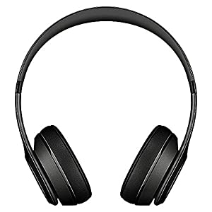 Beats By Dr. Dre Wireless Solo 2 Noise Cancelling Bluetooth Headphones| Wireless On-Ear Headphones With Microphone | For IOS & Android - Black (Renewed)