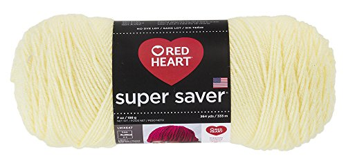 Red HeartSuper Saver Yarn, Pale Yellow