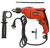 KHADIJA 650WATT 13MM Power Impact Reverse Forward Rotation Drill Machine with Speed Regulator 6 Months Warranty