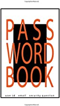 Password Book: Remember Me password logbook with username, password , security question and many more | Password floral co...
