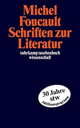 Schriften zur Literatur (suhrkamp taschenbuch wissenschaft)