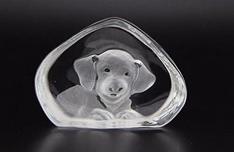 Escultura Murano Collection icono perro esculpido cristal Murano Made in Italy