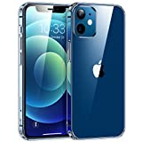 "Syncwire Funda Transparente para iPhone 12 Mini de 5,4 Pulgadas -Protección Avanzada contra Caídas con Cojín de aire , Silicona con Parte Trasera Dura para iPhone 12 Mini (5,4"") -Transparente"