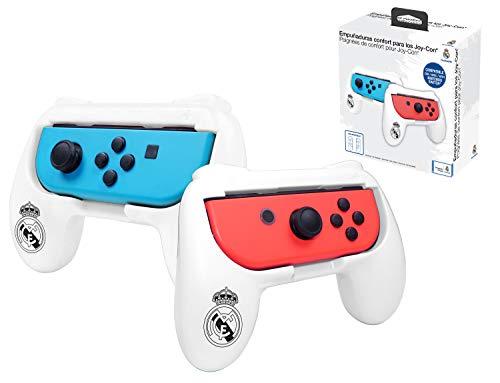 Real Madrid grips (empuñaduras) accesorio para mando JoyCons Nintendo Switch
