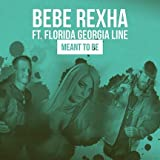 Lost Posters Album Cover Poster Thick Bebe Rexha FT. Florida Georgia LINE: Meant to BE Limited 2018 giclee Record LP Reprint #'d/100!! 12x12