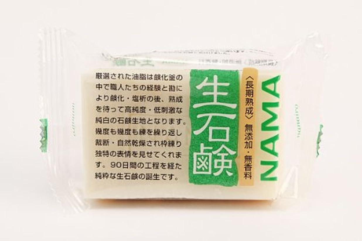 コインランドリー退化するボイコットまるは油脂化学 七色石けん 「長期熟成」生石鹸100g×30