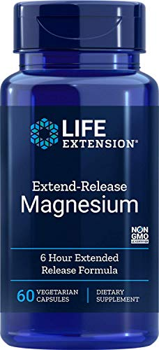 Life Extension Europe Extend-Release Magnesium Capsules, 60-Count