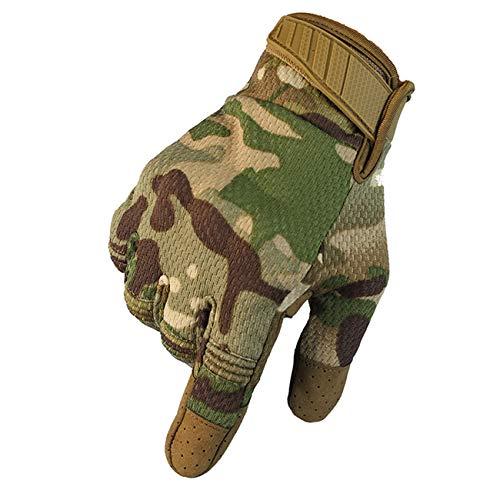 Military Ba Smart Phone Compatible Gloves-Dark Camo M