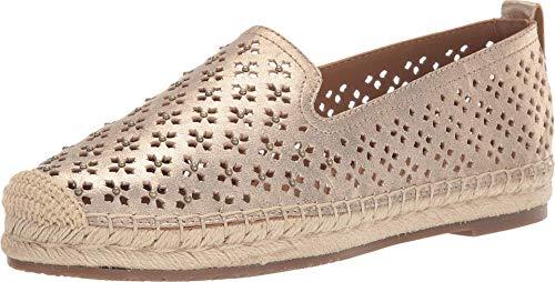 Patricia Nash Elena Espadrille Flats Women's Shoes Pale Gold 8M