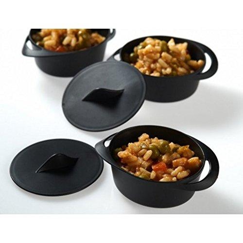 Mini Cazuela para Presentación de Plástico 70 ml – Cacerola para Presentación - 30 uds