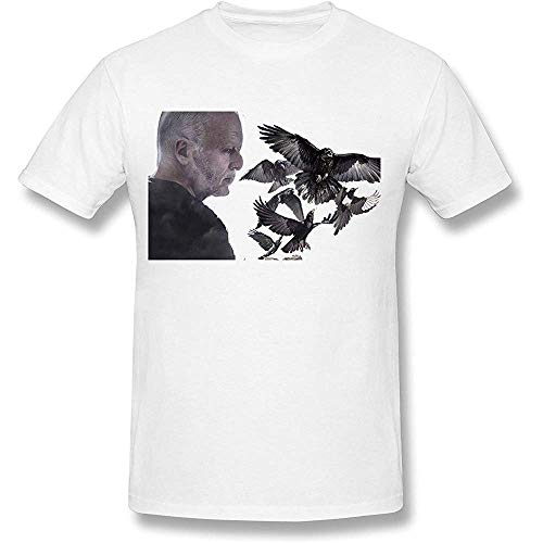 Men's David Gilmour Rattle That Lock Album T-Shirt- White S