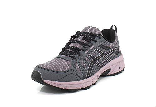 ASICS Women's Gel-Venture 7 Running Shoes, 8.5M, Carrier Grey/Violet Blush