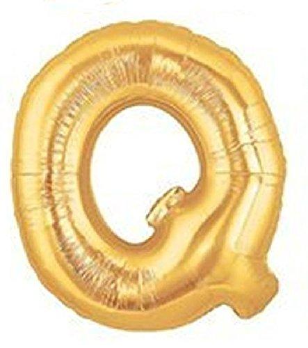 Mondial-fete - Ballon Q Or 38 cm