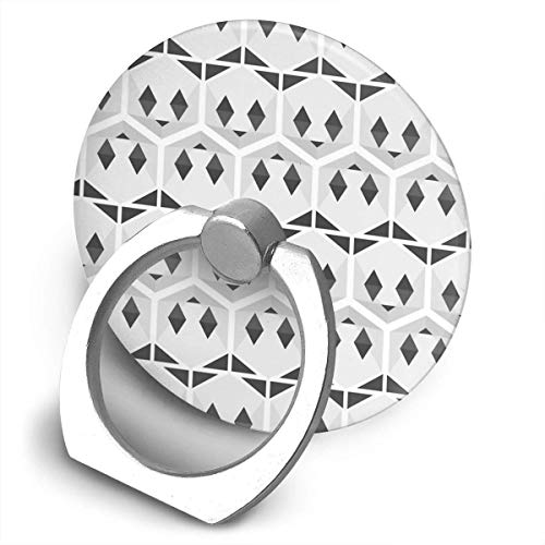 ARRISLIFE Panda Honeycomb Soporte para teléfono,Round-Shaped Soporte para Anillo de teléfono Celular,360 Degrees Rotating Soporte de Metal