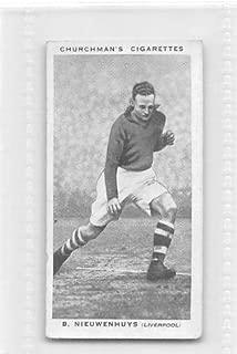 churchman cigarette cards association footballers