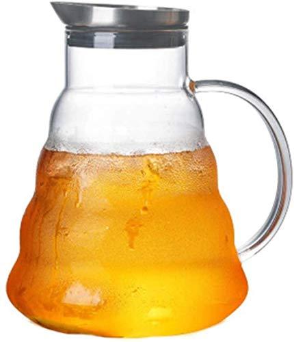 ZHTY Kettle 1500ml Botella de Agua con vidriera Grande Botella de Agua Pote Resistente al Calor Taza de té de Agua fría (tamaño: 1500ml) Song (Size : 1500ml)