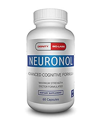 Neuronol by Dignity Bio-Labs: Brain Health Formula for Memory Support, Focus, Clarity, and Concentration - #1 Nootropic formulated w/Dmae, Bacopa Monnieri, Ginkgo Biloba & More. from Dignity Bio-Labs