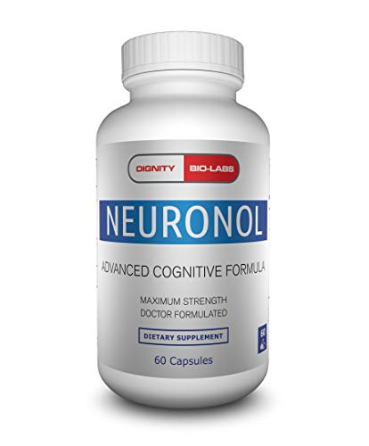 Neuronol by Dignity Bio-Labs: Brain Health Formula for Memory Support, Focus, Clarity, and Concentration - #1 Nootropic formulated w/Dmae, Bacopa Monnieri, Ginkgo Biloba & More.