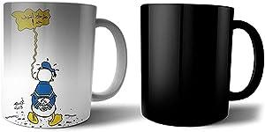 Printed Ceramic Magic Mug - Multi Color