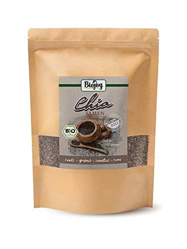 Biojoy Graines de Chia noires BIO, Salvia hispanica (1 kg)