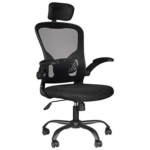 Bürostuhl ergonomisch Gaming MAX Comfort 73H Schwarz Gesunde Rückgrat