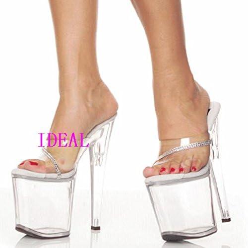 high sandalen, schuhe, crystal transparente heels
