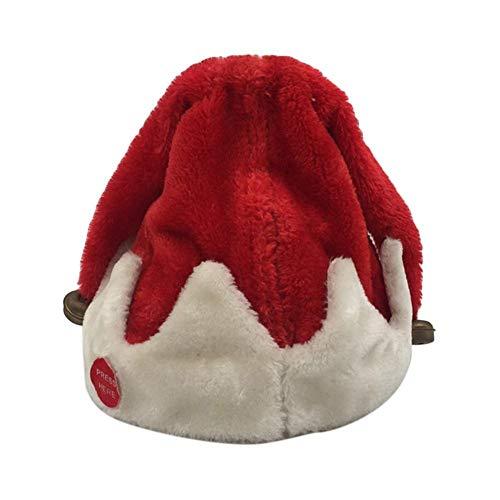 Sombreros De Navidad, Gorro De Papá Noel, Gorro De Papá Noel Que Cantan Y Bailan Gorra Eléctrica para Fiesta De Disfraces De Navidad Y Evento Festivo
