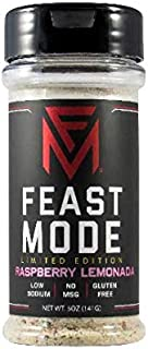 NEW! Raspberry Lemonada - Feast Mode Flavors - Low Sodium , No MSG , Gluten Free , All Natural , Meal Prep Seasoning , Ras...