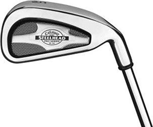 Find Discount Callaway X-14 Pro Series Iron Set 5-PW Stock Steel Shaft Steel Right Handed 38.0in