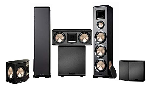 bic floor standing speakers BIC Acoustech PL-980 5.1 Home Theater System- PL-200 NEW!!