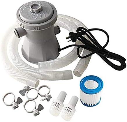 MiXXAR Bomba de filtro de piscina sobre el suelo Herramienta de limpieza para herramientas de limpieza, bomba de filtro de agua para piscina, bañera de hidromasaje