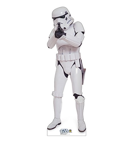 Life-Size Stormtrooper Cardboard Cutout