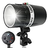 LimoStudio 200W Photo Monolight Flash Strobe Studio Photography Light Lighting, Flash Strobe Light, Quality Circular Flash Tube Bulb, Quality Model Light Bulb, AGG1756