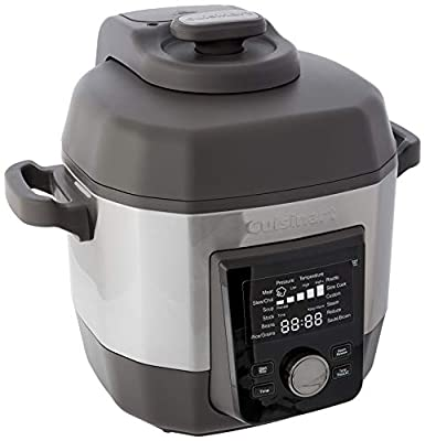 Cuisinart CPC-900 6-Quart High Multicooker Pressure Cooker, Stainless Steel