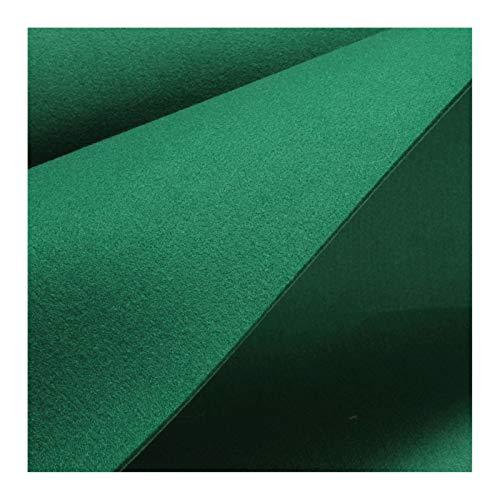Stoff am Stück Stoff Polyester Filz grün stabil 4 mm dick Bastelfilz 100 cm breit waschbar tannengrün