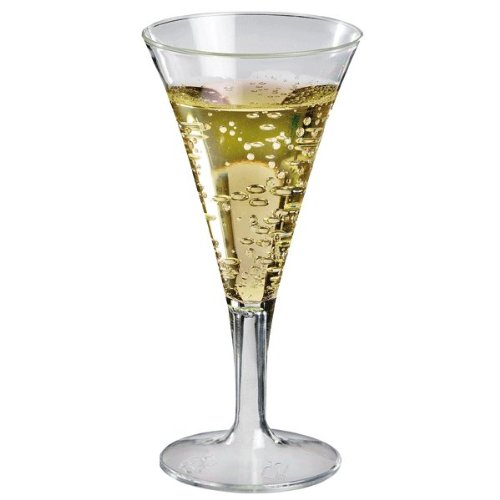 Sweet Flavor Disposable Plastic Martini Glasses 2 Oz. Pack: 10